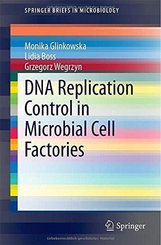 DNA Replication Control in Microbial Cell Factories (SpringerBriefs in Microbiology) 2015 edition by Glinkowska, Monika, Boss, Lidia, Wegrzyn, Grzegorz (2015) Paperback