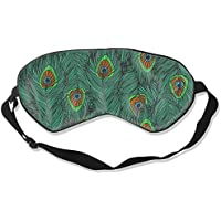 Natural Silk Eyes Mask Sleep Peacock Feather Blindfold Eyeshade with Adjustable for Travel,Nap,Meditation,Sleeping... preisvergleich bei billige-tabletten.eu