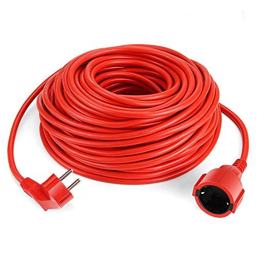 SIMBR Alargador Electrico 30m IP20 H05VV Cable Alargador Corriente IP20 H05VV Alargador...