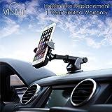 VISMIINTREND Quick ONE Touch CAR Mobile Holder 360° Rotation for iPhone/Samsung/VIVO/Moto/All Smartphones for Car Dashboard,Car Windshield,Desktop...3RD Generation Upgrade.!!!