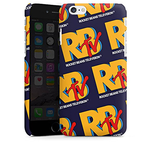 Apple iPhone X Silikon Hülle Case Schutzhülle Rocket Beans TV RBTV Merchandise Premium Case matt