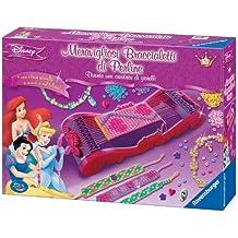 Ravensburger 18520 - Diseña tus pulseras, diseño de Princesas Disney [Importado de Italia]