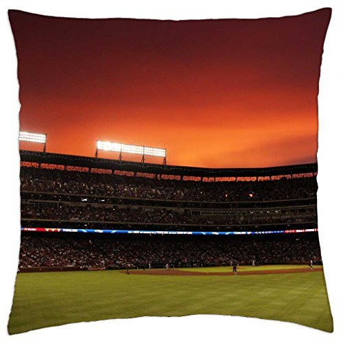 Texas Rangers Ballpark-Throw Pillow Cover Case (45,7x 45,7cm)