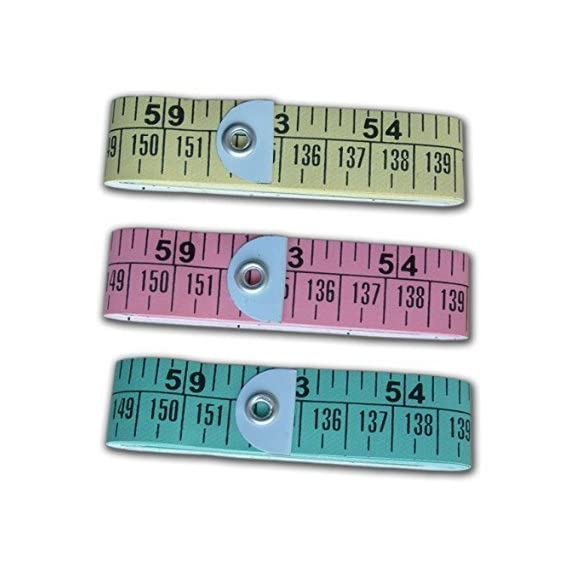 Arrison PACK OF 3 X 1.5 METER (60 Inch) SEWING MEASURING RULER TAPE