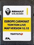 Carte SD GPS Europe 2019-10.15 - Renault Tomtom Live