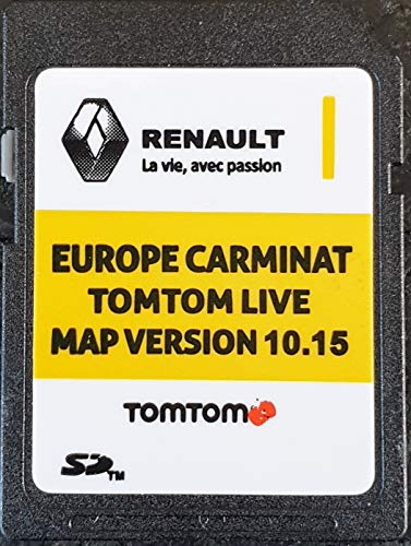 SD Karte GPS Europe 2019-10.15 - Renault Tomtom Live