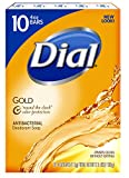 Dial Gold Antibacterial Soap Bar, 4-Ounc...