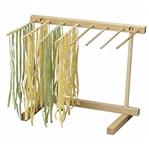 51dj%2B6mBj7L. SS300  - Eppicotispai EP 102 Natural Beechwood Collapsable Pasta Drying Rack