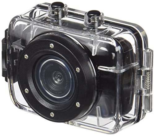 Denver ACT-1302 cámara para deporte de acción - Cámara deportiva (1280 x 720 Pixeles, AVI, 30 fps, CMOS, 1,3 MP, JPG) Negro