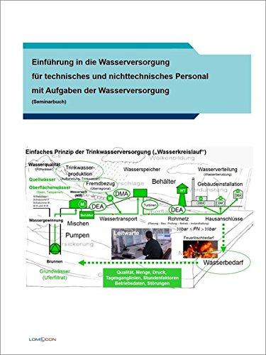 Einführung in die Wasserversorgung für technisches und nichttechnisches Personal mit Aufgaben der Wasserversorgung