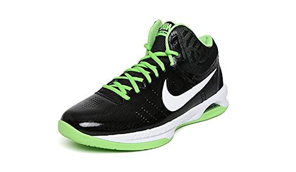Nike Men's AIR VISI PRO VI Black Basketball Shoes 9 UK (44 EU) (10 US) (749167 011)