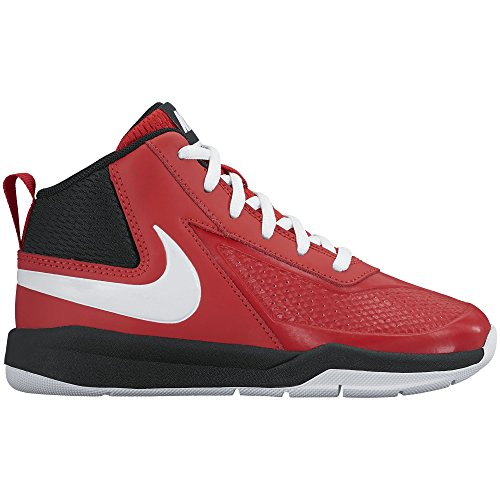Nike Bambini squadra Hustle D 7 (ps) scarpa da basket University Red/White/Black