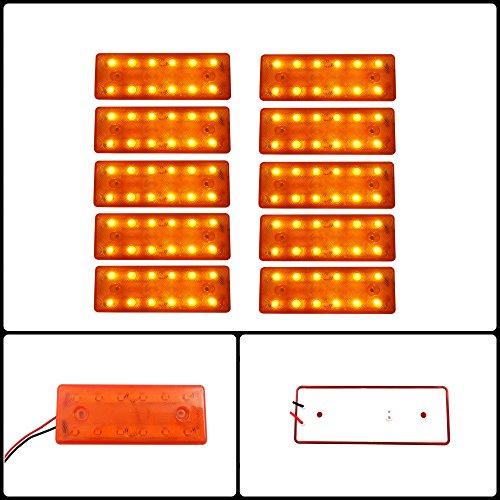 10-x-24-v-12-led-ambra-lato-anteriore-posteriore-evidenziatore-arancione-luce-camion-rimorchio