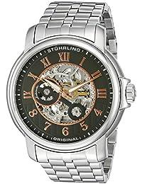 Stührling Original 344.331154 - Reloj para hombre, correa de acero inoxidable, color plateado