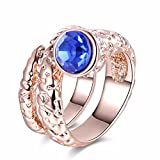The sweetest weapon Lady Rose Gold-Ring Schlangen, Sechs