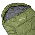 Pusheng Sleeping Bag - Envelope Lightweight Portable, Waterproof, Comfort With Compression Sack, Great For Traveling, Camping, Hiking, Outdoor Activities 4