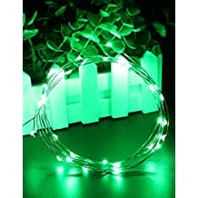 100LED Fairy String Lights & # xFF0C; KOYA Green Colour 10m/32.8ft Outdoor Decoration String Lights for Wedding Party Christmas Festival