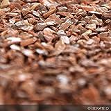 BEKATEQ BK-590 Marmorkies Naturstein, Marrone Mogano 25kg, rundgerieben, gewaschen, 3-5mm, Steinteppich
