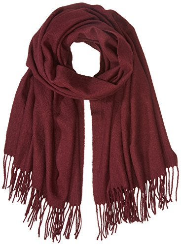 PIECES Damen Schal Pcjira Wool Scarf Noos, Rot (Port Royale), One Size (Schal Port)