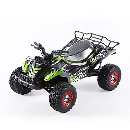 FY-04 Ferngesteuerte Auto 35 km/h, OCDAY Off-Road RC Auto Rock Crawler 1:12 4WD 2,4Ghz, RC Monstertruck für Draußen-Rennauto (Grün)