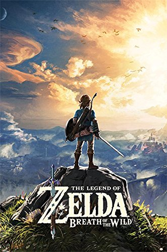 Póster The Legend of Zelda - Breath of the Wild/Sunset