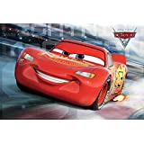 Cars: The Movie Cars 3 McQueen Race Maxi Poster 61 x 91,5 cm