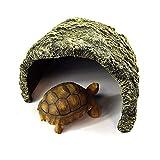 OMEM Ausweichloch für Reptilien, zur Erhöhung der Höhe, Loch, Kunstharz, für...