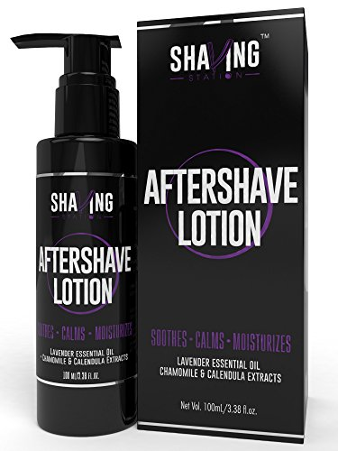 Shaving Station - Aftershave Lotion - Paraben & Sulphate Free - 100ml