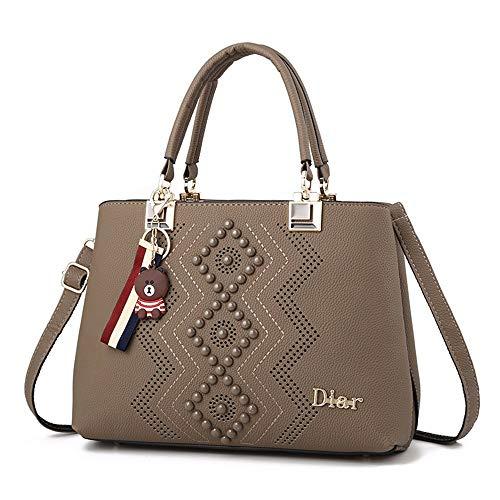 a23fa0e96abe4 Gxinyanlong Ladies  Bolsa de Hombro PU Bucket Bag