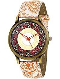 LUCERNE Analogue Multi Designer Dial Colored Leather Strap Casual Gift Watch For Women A Modern Ladies Watch Gifts...