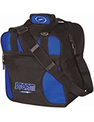 Storm Solo Single Tote Black/Royal by Storm