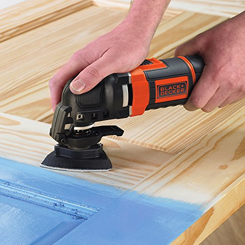 Ideal for sanding - BLACK+DECKER Multi-Oscillating Tool, 300 W