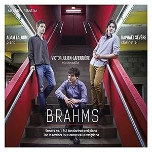 Brahms: Clarinet Sonatas Nos.1 & 2, Clarinet Trio by Raphael Severe, Adam Laloum, Victor Julien-Laferriere (2014-10-14)