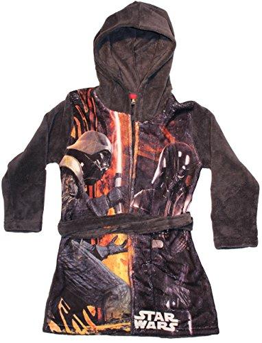 Disney Star Wars Darth Vader, Vestido para Niños, Gris Grey 4 años