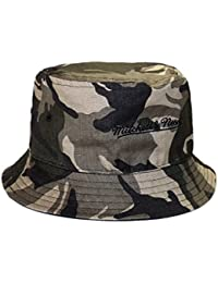Mitchell and Ness Bob Bucket Réversible Noir Camouflage Homme