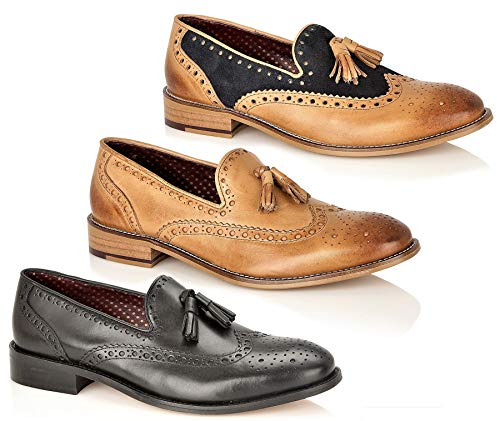 london brogues louis loafer shoes tan