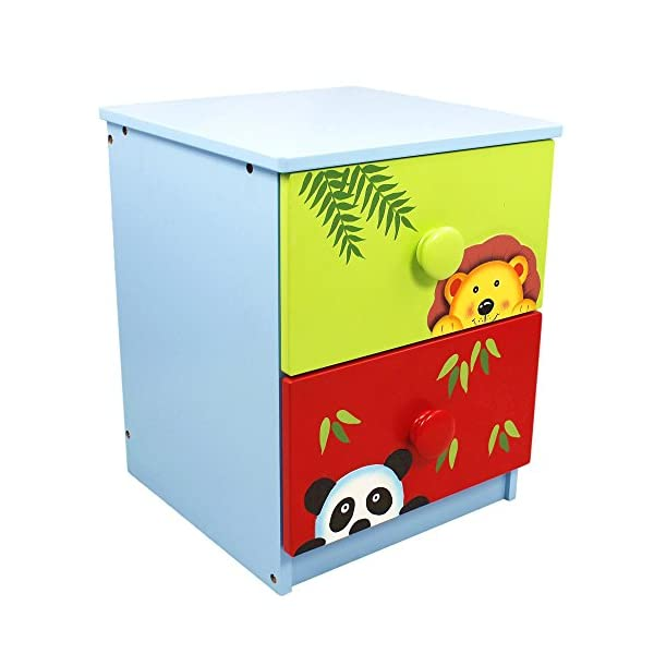 Fantasy Fields by Teamson Sunny 14 Fantasy Fields By Teamson Versatile storage unit to make tidy up time fun.  Multifunctional and robust design.  Dimensions 40 x 40 x 54.93 cm Sturdy and free standing. Suitable for Kids Bedroom and Playroom enchancing your little ones organisational skills Teach your kids colour and character recognition and enhance their imaginative minds.  Great for encouraging children's independence 1