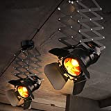 CHJK BRIHT Barre d'air industriels allée loft appliques murales de sonde lampe à LED