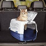 AmazonBasics Transportbox für Haustiere, 2 Türen, 1 Dachöffnung, 58cm - 3