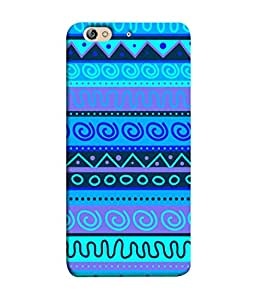 PrintVisa Designer Back Case Cover for Gionee Elife S7 (Jaipur Rajasthan Tribal Azitec Mobiles Indian Traditional Wooden)