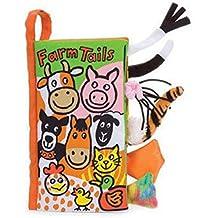 Malloom® colas animales libro de tela bebé de juguete Desarrollo Libros Aprendizaje y Educación libros (farm tails)