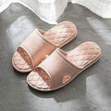 Sandali Open Toe, Pantofole da Bagno, Sandali Domestici Morbidi per Interni-Nude_39-40, Sandali da Doccia su Muli Scarpe