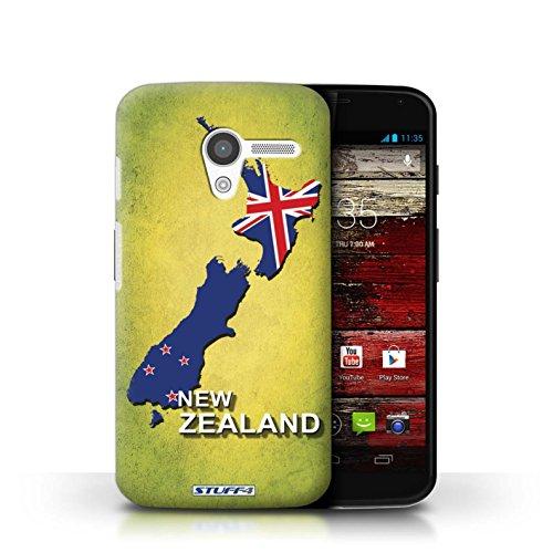 Kobalt® Imprimé Etui / Coque pour Motorola MOTO X / Afrique du Sud/Afrique conception / Série Drapeau Pays nouvelle Zélande