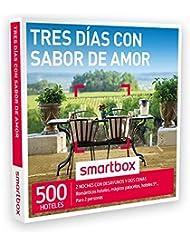 SMARTBOX - Caja Regalo - TRES DÍAS CON SABOR DE AMOR - 500 románticos hoteles, palacetes, hoteles 5* en España, Andorra, Portugal y Francia
