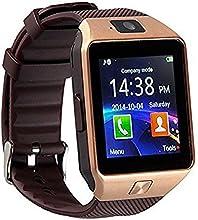 Bluetooth 3.0 reloj inteligente con cámara, reloj inteligente TF / tarjeta SIM ranura muñeca con podómetro función anti-perdida para Samsung, HTC, LG, Sony, Huawei teléfonos inteligentes Android y iOS (función parcial)
