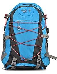 Hike Women& Men Outdoor Travel Backpack 60-70 Litre Blue Hiking Bag