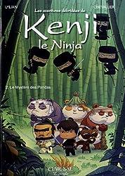 Les aventures débridées de Kenji le Ninja, Tome 2 : Le mystère des pandas