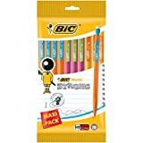 BIC Matic Strong Porte-Mines 0,9 mm HB -  Corps Couleurs Assorties, Pochette de 10