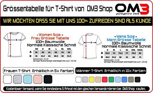 OM3 - DJ-APE - Damen T-Shirt DeeJay Turntables Monkey Headphone Music Master MC Cool Reggae Geek, S - XXL Pink