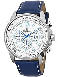 Burgmeister Herren-Armbanduhr Chronograph Quarz Leder BM608-183
